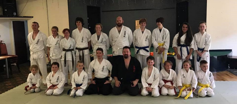 Summer 2017 Gradings at our Carlisle Martials Arts Club